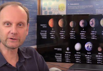 7 erdähnliche Planeten um TRAPPIST-1