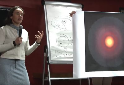Planetenentstehung - TW Hydrae - Live im Hörsaal - Barbara Ercolano