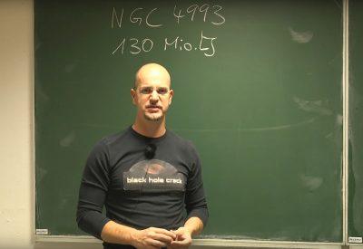 Gravitationswellen durch Verschmelzung zweier Neutronensterne
