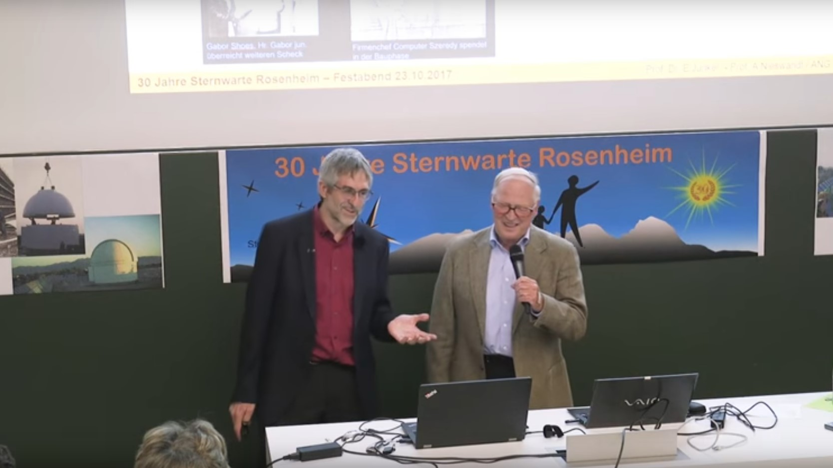 30 Jahre Sternwarte Rosenheim