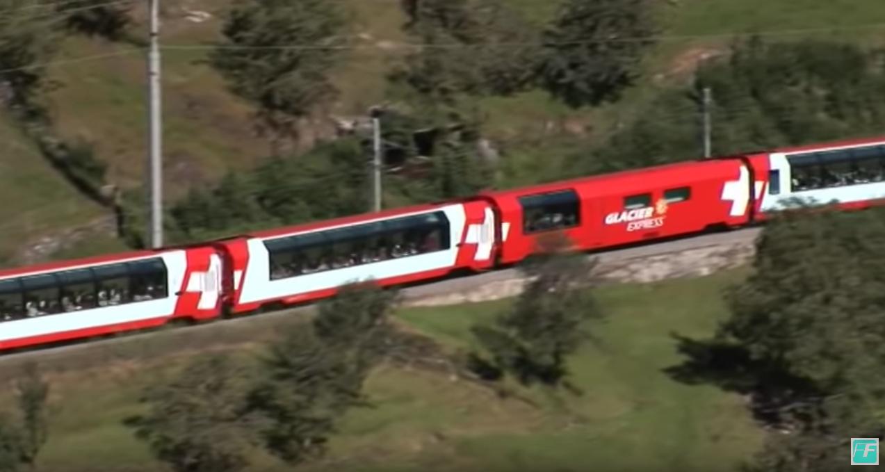 Glacier Express - Auf der Schiene durch die Schweiz